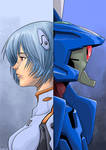Rei and Eva 00
