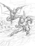 Batman Beyond vs Hordak