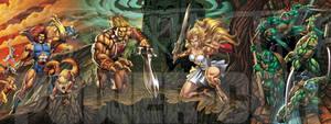 ThunderCats, He-Man, She-Ra, and TMNT
