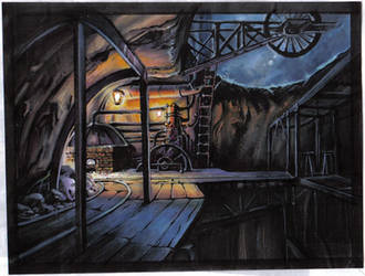 Ghibli's Interior by VJAN