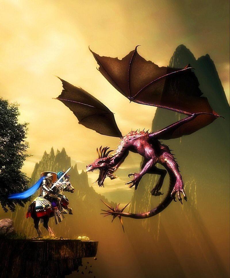 Dragon Slayer by mwkloh