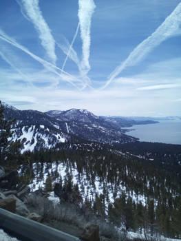 A Snow Flight View
