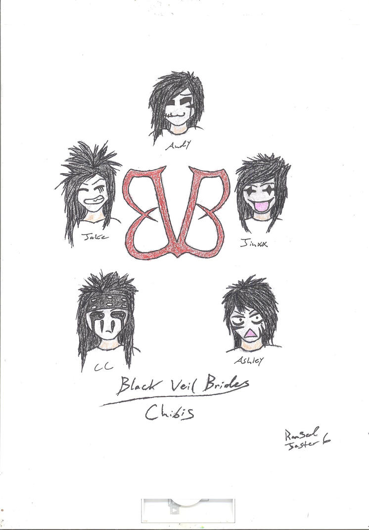 Black Veil Brides (chibi) by RangedJester6