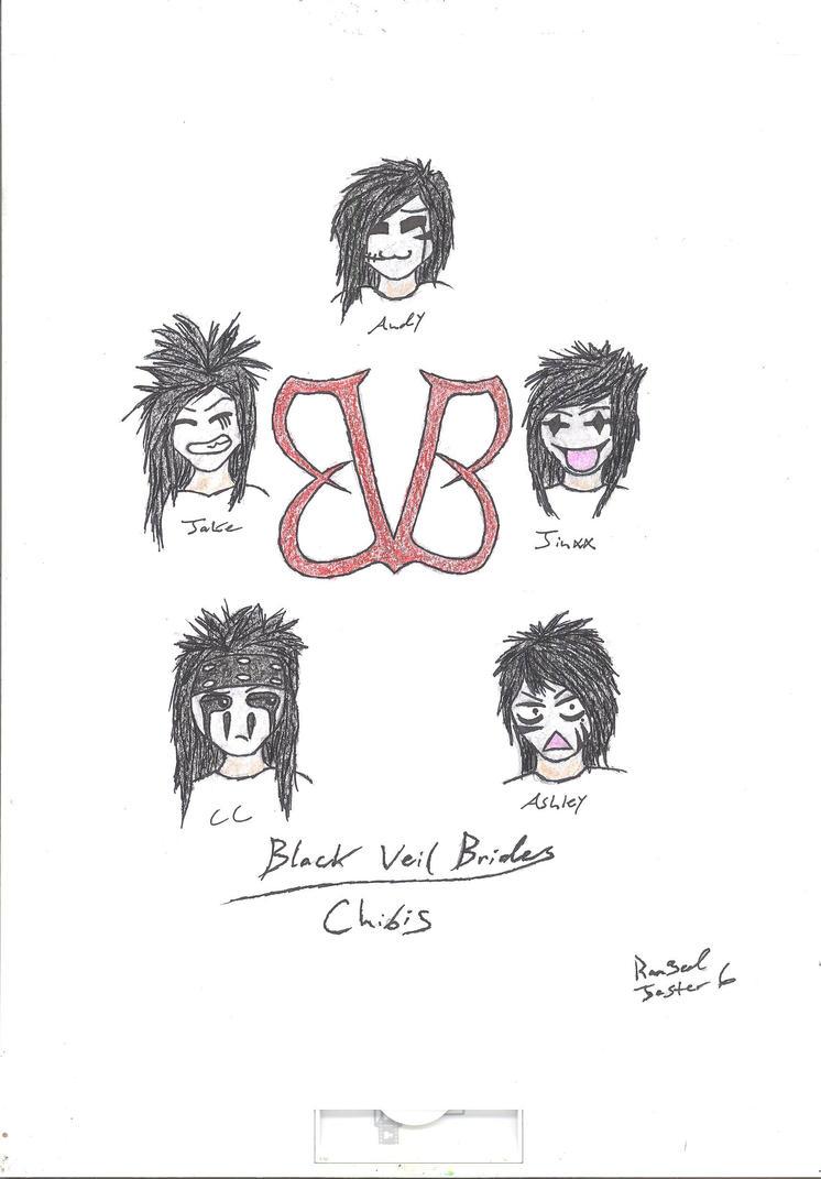 Black Veil Brides (chibi) by RangedJester6