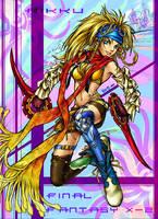 Psychadelic Rikku by sheravira