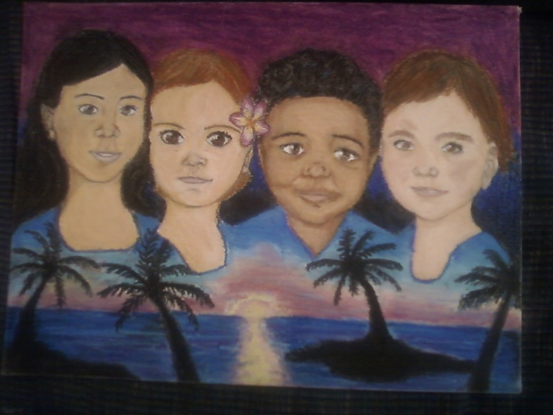 Four Grandchildren by Kanna21