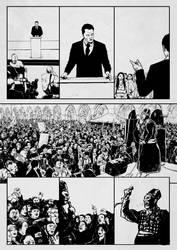 Comic Book page by pumsmajer