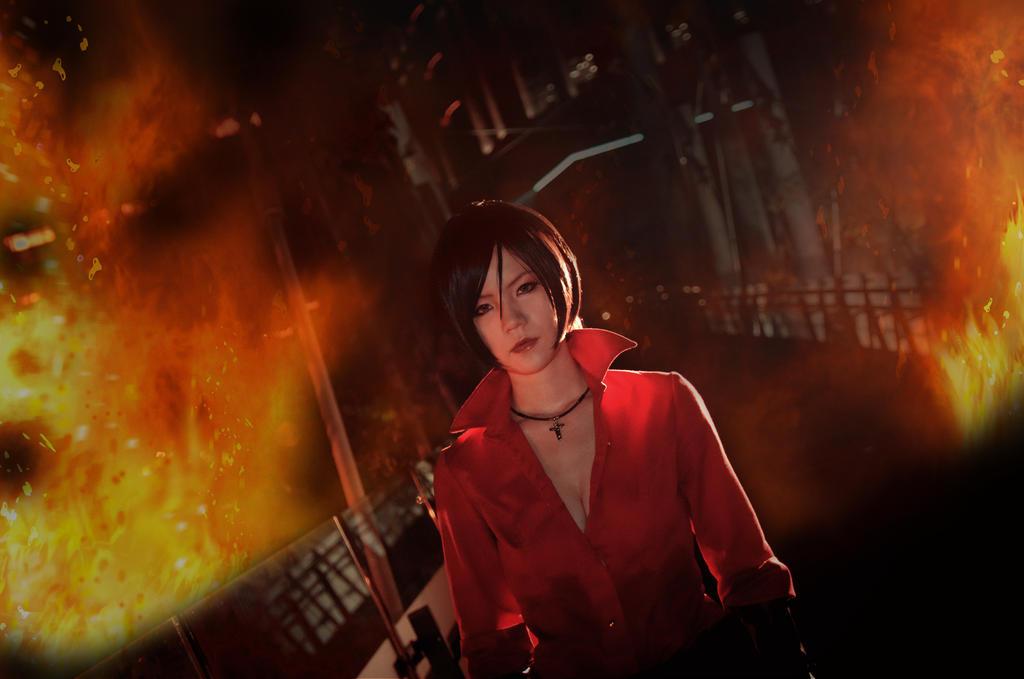 Flame - Resident Evil 6 by UchihaSayaka