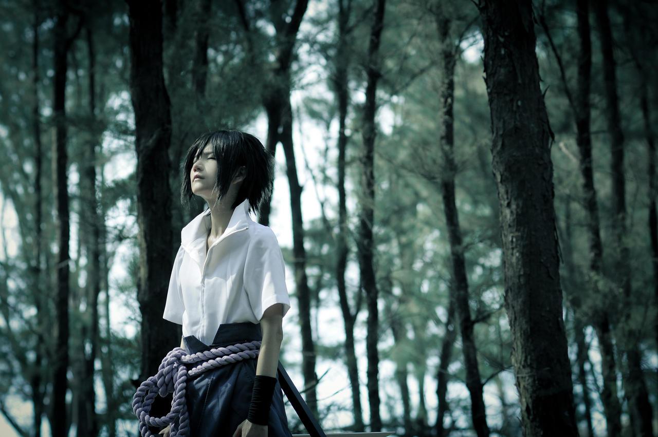 In the woods by UchihaSayaka