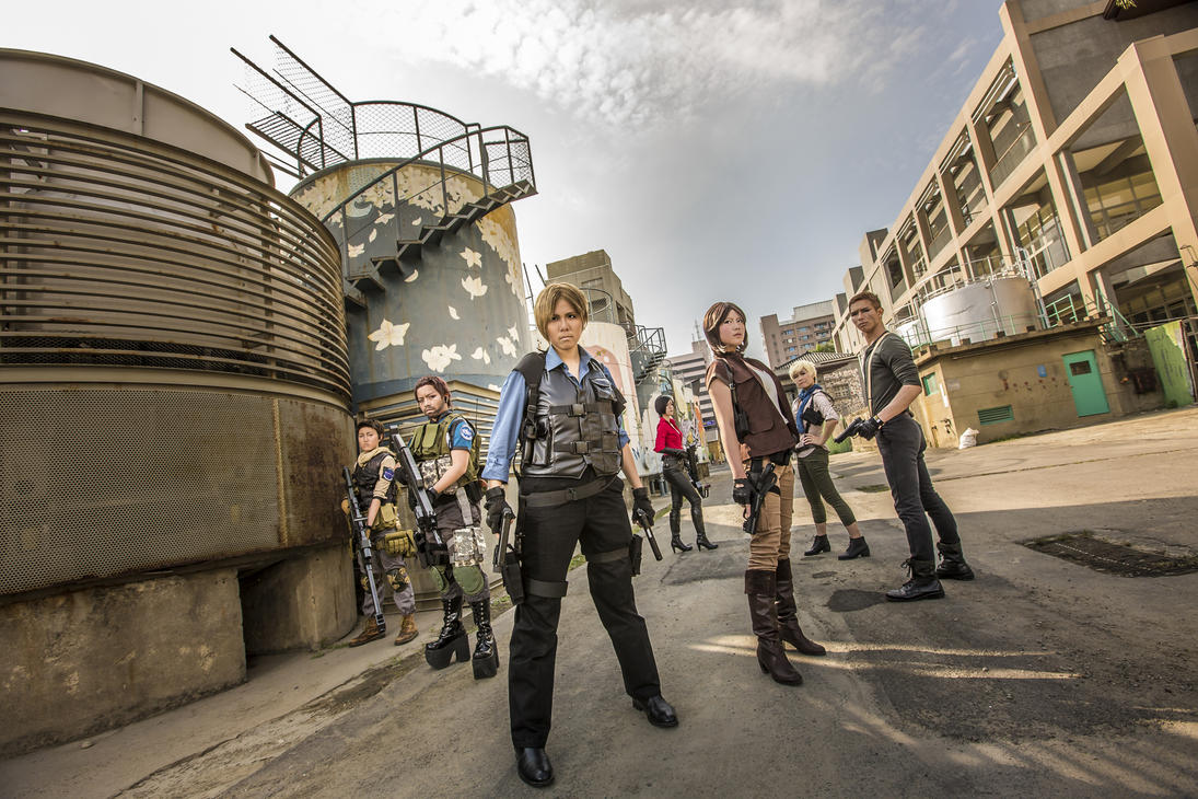 Team up - Resident Evil 6 by UchihaSayaka