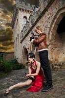 Leon x Ada - Resident Evil 4 by UchihaSayaka