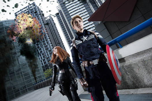 Cap x Black Widow