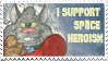 AstroCat stamp by Granitoons
