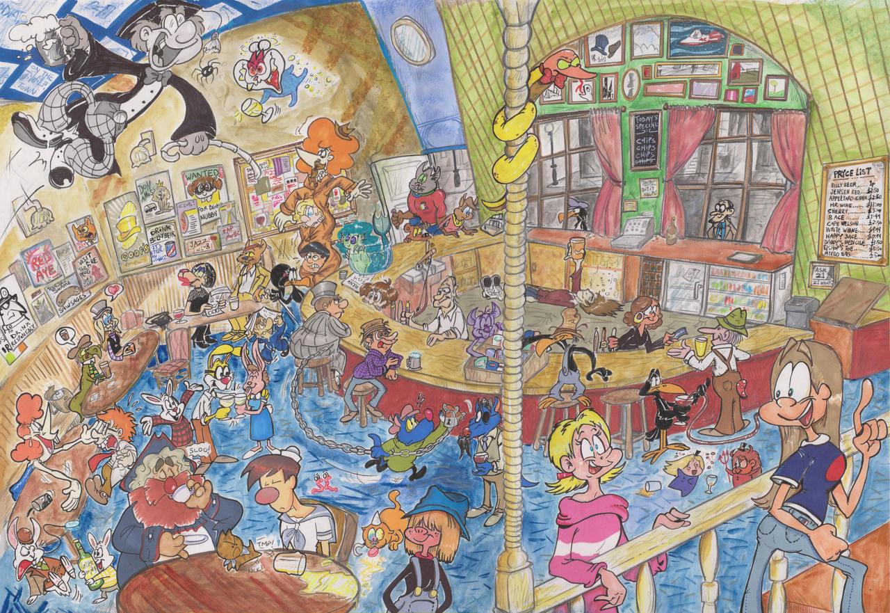 What's the hub-bub at the pub, bub? by Granitoons