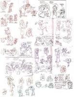 Sketch dump 3/2/12 by Granitoons