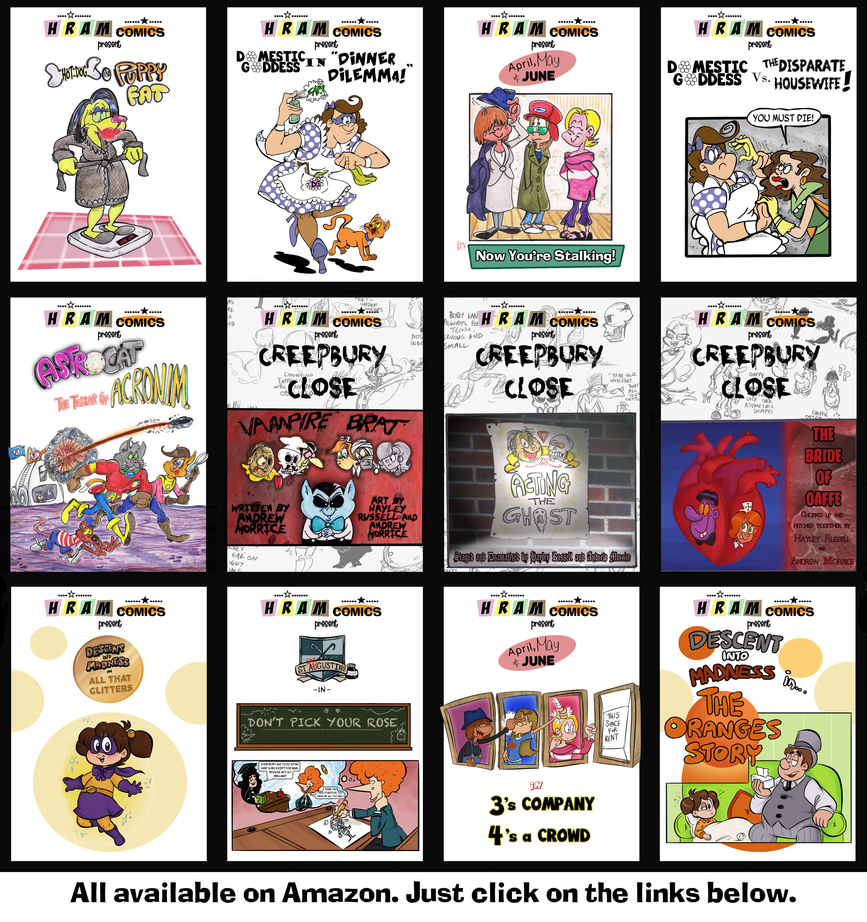E-comics on Amazon by Granitoons
