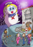 The Real Ghostbumblers by Granitoons