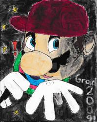 TBT - Rapper Mario Water-paint