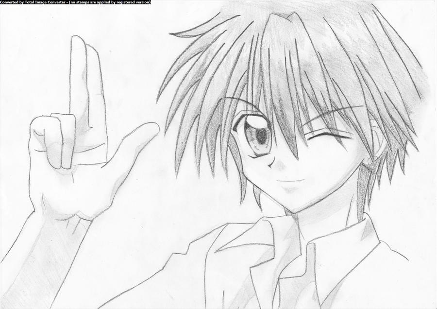 картинки аниме кайто:
