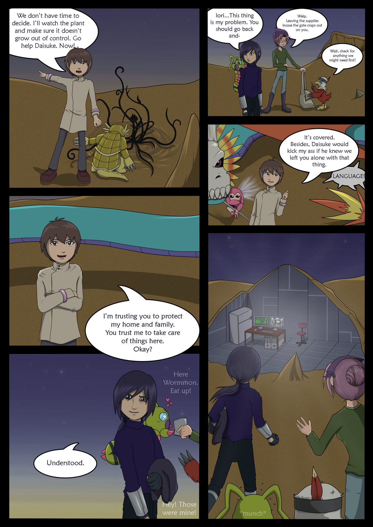 Overshadow - Page 19 by CharlotteTurner