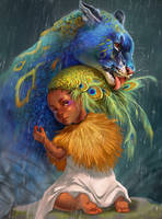 Grooming (Fan Art for Tamberella)