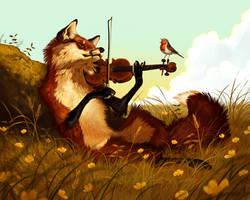 Springtime Duet by Pixxus