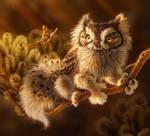 Screech Owl Griffon