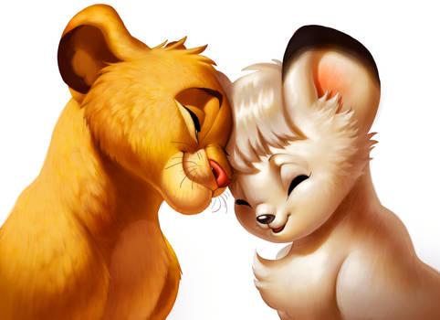 Simba and Kimba