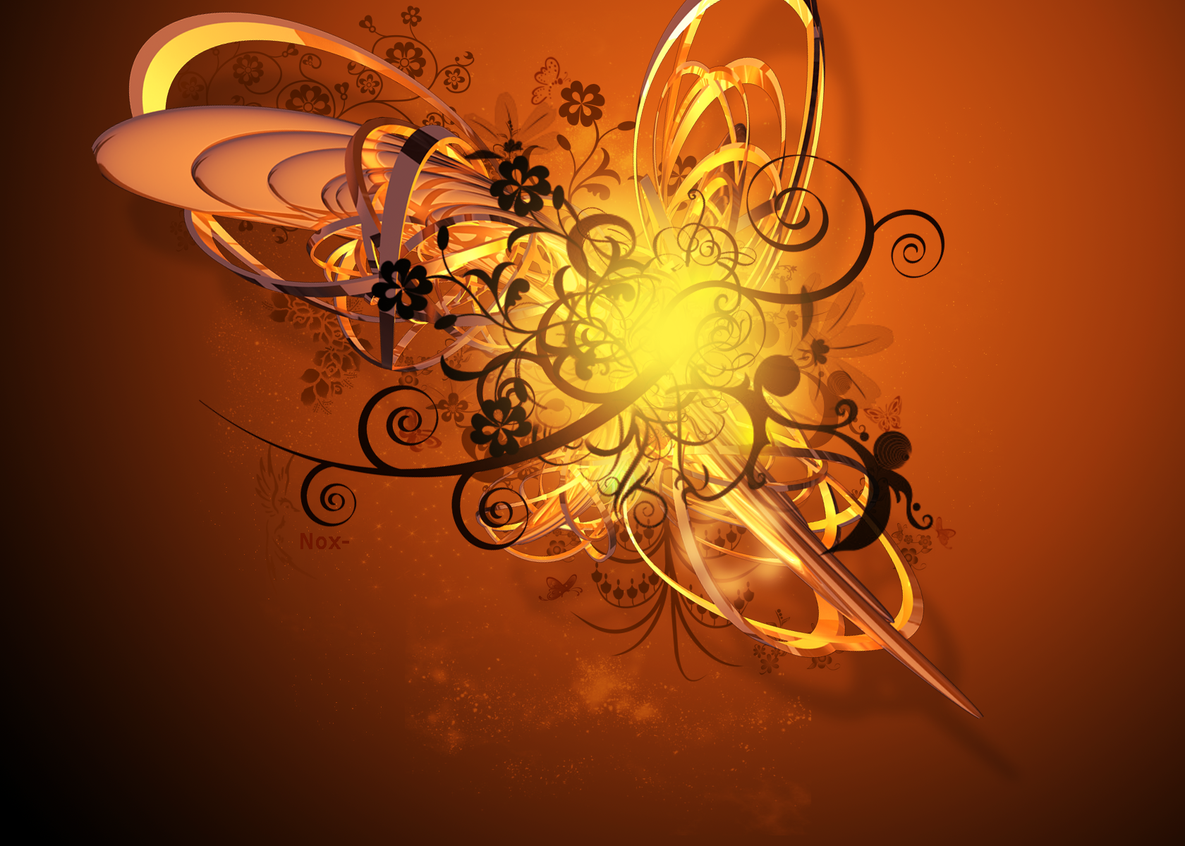 Some Artistic Wallpapers Vector___c4d_wallpaper_attempt_by_G_ulch