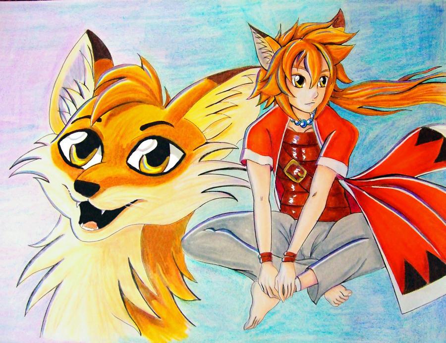 Hotaru from Sal's Hotarugari Comic by BlackCrowSilverTree