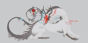 White dragon by WXaman