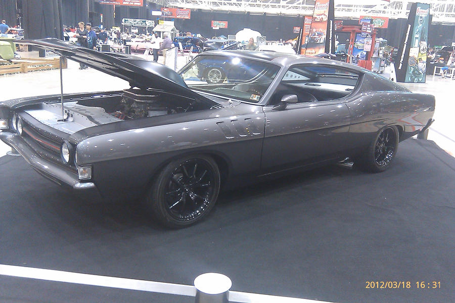 1969 ford torino gt fastback by themodelist
