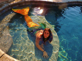 Mermaid in the Shallows by Ninjagimli
