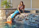 Waterfall Mermaid
