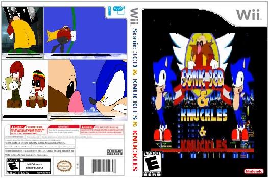 Sonic 3CD Case by sonicdahedgehogfan