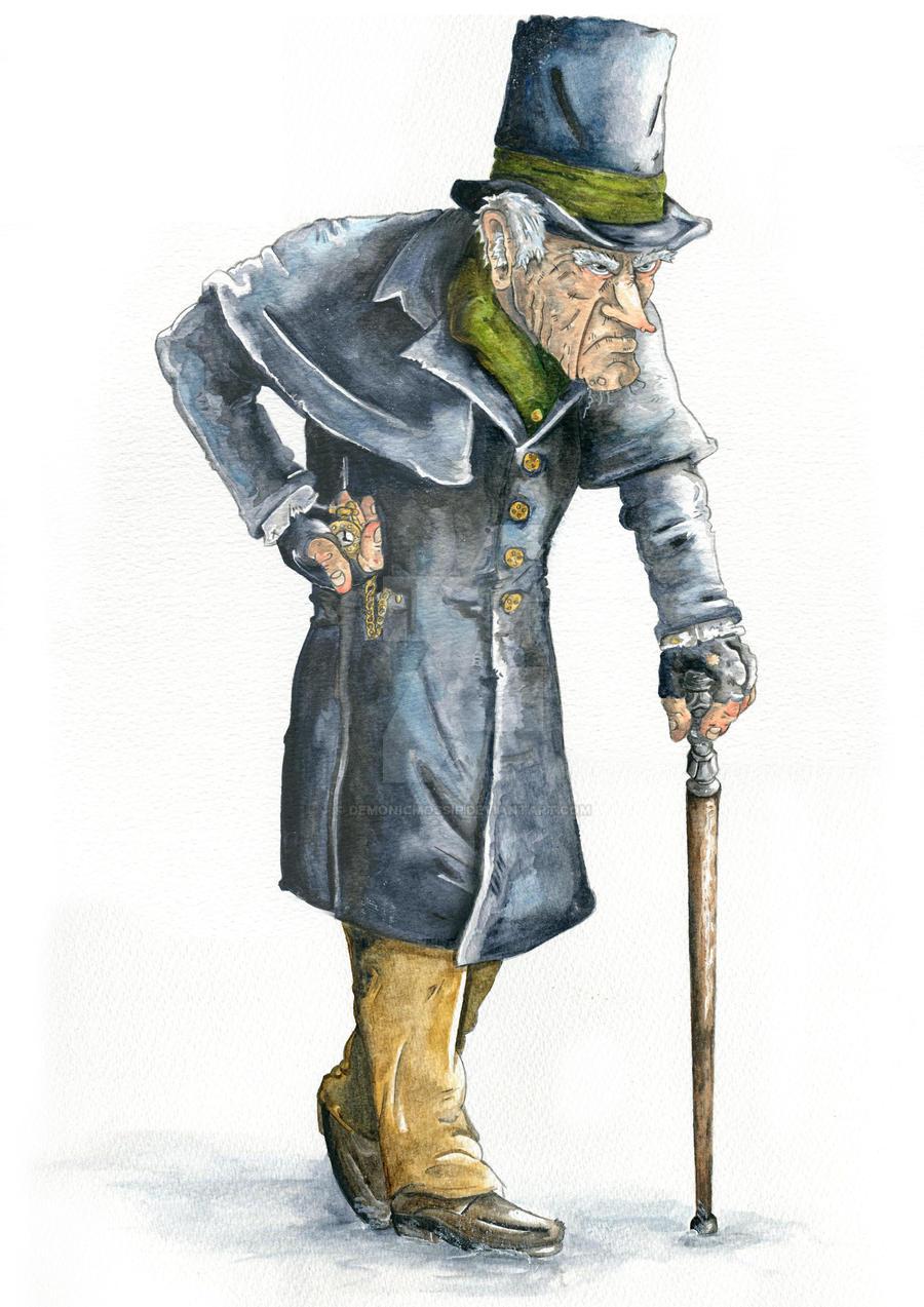 Ebenezer Scrooge By Demonicmossip On Deviantart