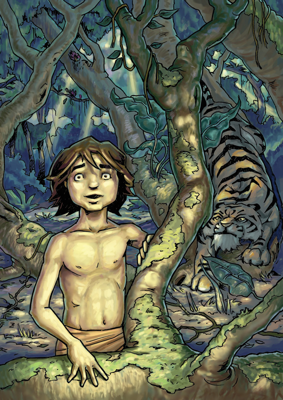 Junglebook - the jungle's edge