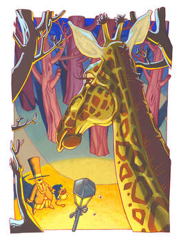 The discovery of the giraffe