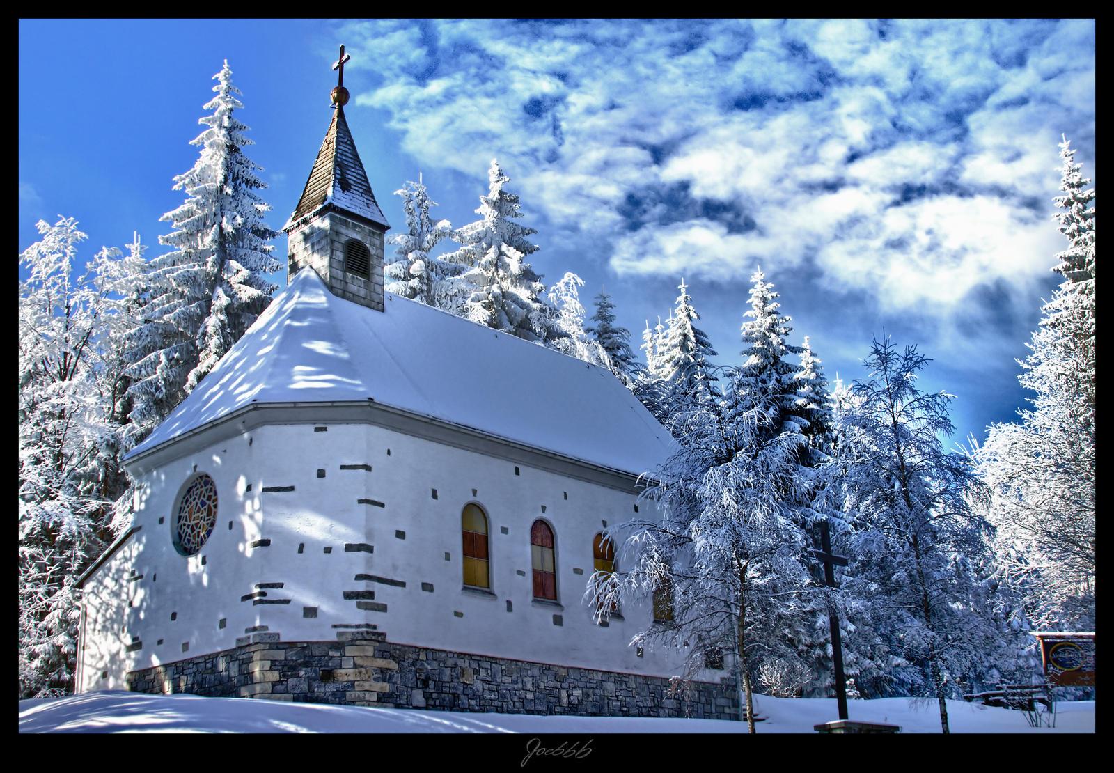 Chapel in Winter by deaconfrost78
