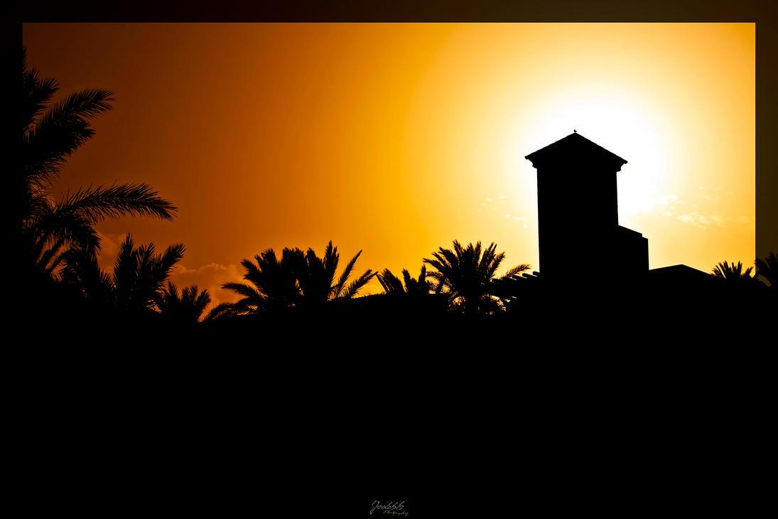 Silhouette Fuerteventura by deaconfrost78