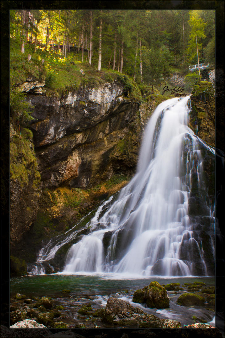 Golling waterfall 2 by deaconfrost78