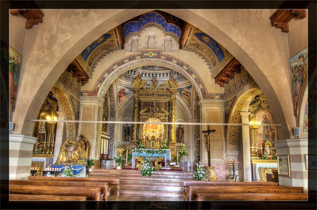 Pilgrimage church inside 03 by deaconfrost78