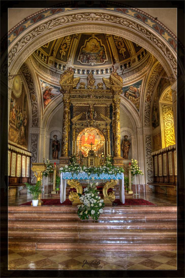 Pilgrimage church inside 02 by deaconfrost78