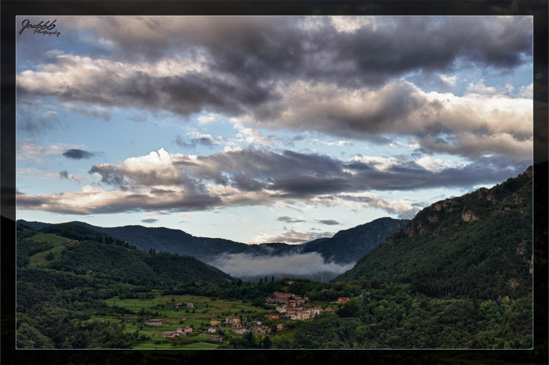 Morning view to the Valley by deaconfrost78
