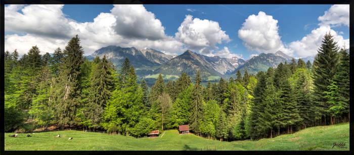 Oberstdorf Panorama 2