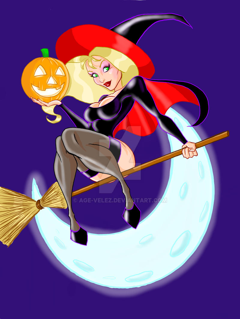 Manon's Halloween by Age-Velez