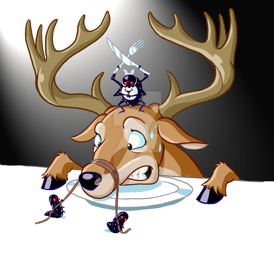 Deer Feast by Age-Velez