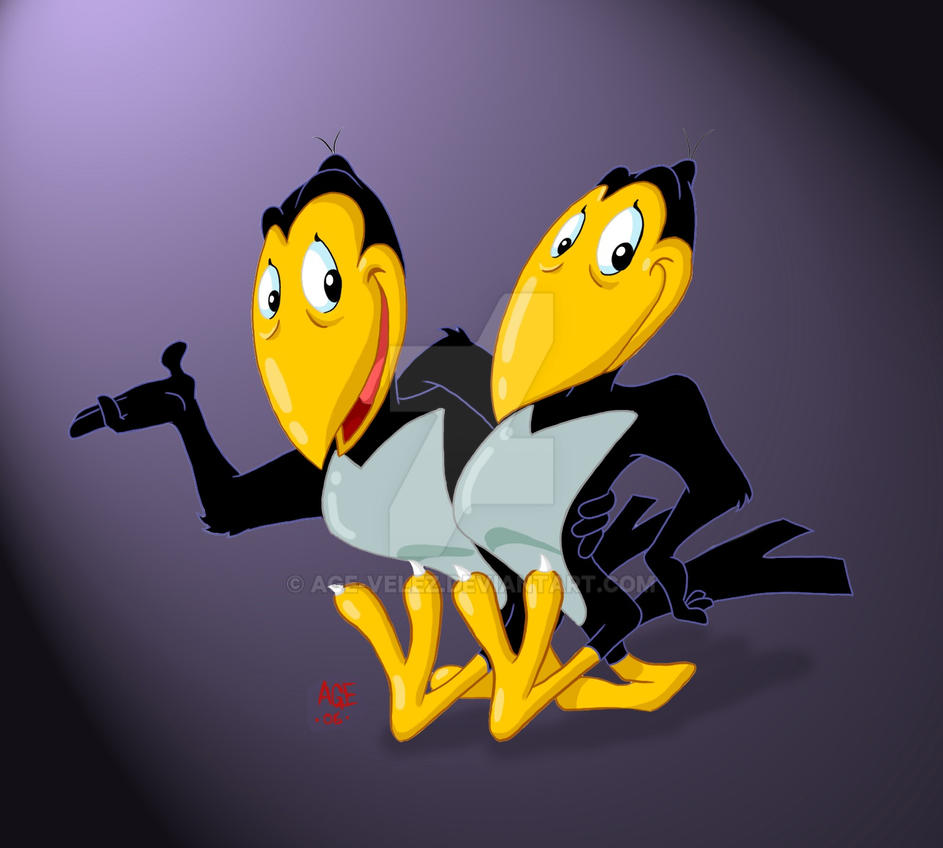 Heckle and Jeckle by Age-Velez