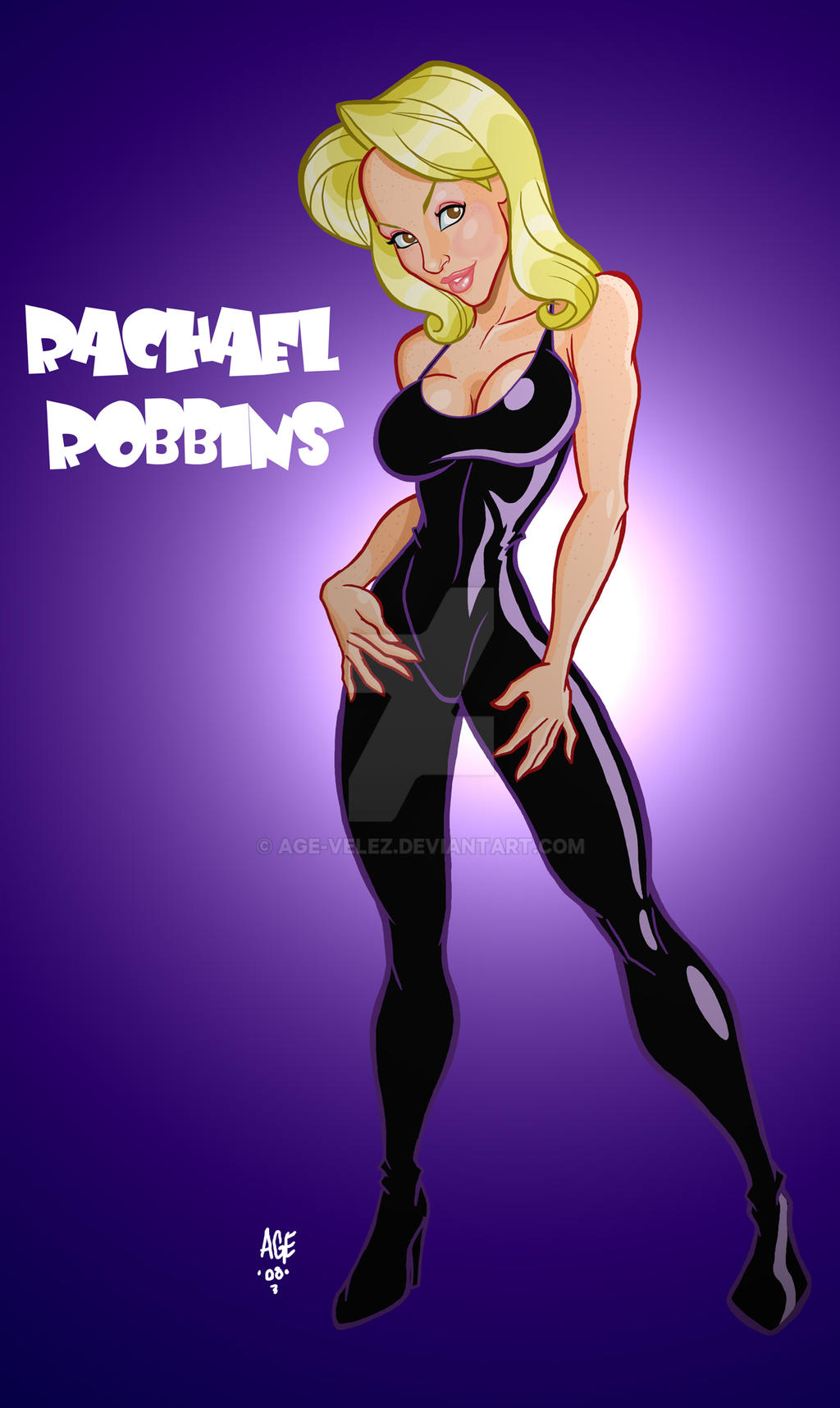Con Girl Rachael Robbins by Age-Velez