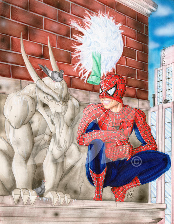 Spider-Man by Age-Velez